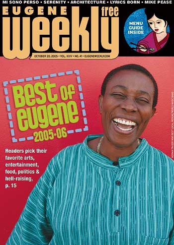Best Singer Award (Eugene Weekly) – Norma Fraser (official